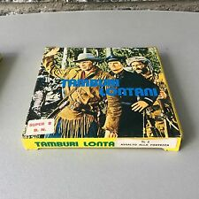 VINTAGE#TAMBURI LONTANI DISTANT DRUMS ASSALTO ALLA FORTEZZA   # FILM SUPER 8 MM