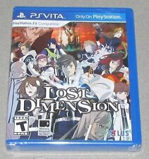 Lost Dimensions for Playstation Vita Brand New! Factory Sealed!