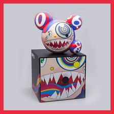 【 TAKASHI MURAKAMI 】 COMPLEX CON - MR. DOB ART FIGURE - RED/BLUE - 2016 - NEW