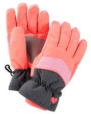 New OshKosh Ski Gloves Winter Glove size 4 -6X year Kid Girl NWT Neon Coral Pink