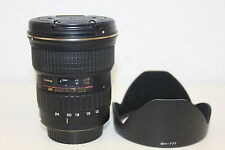 Tokina AT-X PRO 12-24 mm f/4.0 AF DX II per for Canon con 1 anno di garanzia