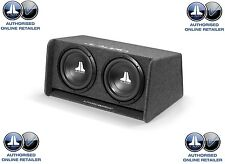 """JL Audio CP212-W0v3 Double 12"""" Sub Woofer and JL Slot Port Box Bass Wedge"""