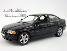 BMW 328i 1998 1/24 Scale Diecast Metal Model by Welly - BLACK