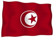 Adesivo Auto Sticker Tuning Moto Auto Stickers bandiera bandiera TUNISIA