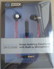 New 100%Original Zoook E-200M 3.5MMJack Mic+VolumeKey HANDSFREE Earphone Headset