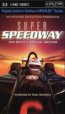 Super Speedway [UMD for PSP] by Mario Andretti, Paul Newman, Michael Andretti