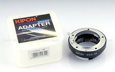 Kipon adapter for Exaka EXA lens to Leica M M240 M9 Ricoh GXR A12,RF uncoupled