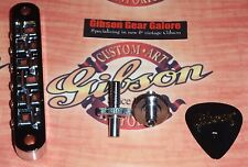 Gibson Les Paul Bridge Nashville Chrome Tune-o-matic API Hex ES Guitar Parts SG