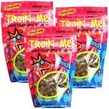 3 PACK Crazy Dog Train-Me! Treats Bacon Flavor (3 lb)