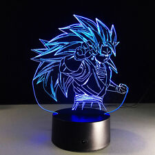 DragonBall Z Acrylic Son Goku 3D Table Lamp LED Light Decorative Lantern Gift