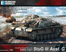STUG III - RUBICON MODELS - 1/56 28mm - WW2 ASSAULT GUN - GERMAN - BOLT ACTION