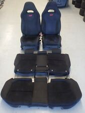 Subaru Forester SG9 STi 2004 Black Front Rear Seat Set #1