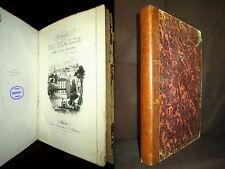 """""""VOYAGE en ITALIE"""" Jules JANIN Italia Italy Italien BOURDIN EO 1ère Ed. 1839 !"""