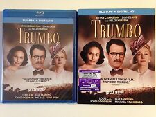 Trumbo Blu-ray Disc, 2016, Includes HD UltraViolet w/slipcover (NEW/SEALED)