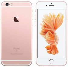 Apple iphone 6s - 16GB-or rose débloqué smartphone garantie britannique stock grade b