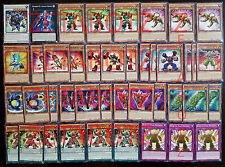 YUGIOH Superheavy Samurai Deck 42 Cards Galaxy Queen*Sarutobi* Scales Peacemaker