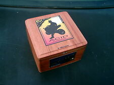 ACID CIGARS BY DREW ESTATE WOODEN CIGAR BOX TOBACCO LEAVES HOLDS 24 CIGARS EMPTY