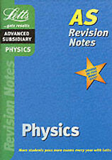 Physics: AS Level Revision Notes by Letts Educational (Paperback, 2000)