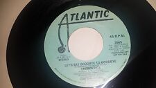 ENERGETICS Let's Say Goodbye To Goodbye ATLANTIC 3565 PROMO SOUL 45