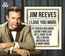JIM REEVES I LOVE YOU MORE - 3 CD BOX SET - BILLY BAYOU, MONA LISA & MANY MORE