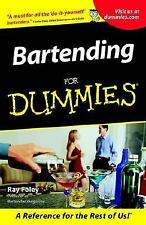 Bartending For Dummies paperback book FREE SHIPPING dummys a the drinks alcohol