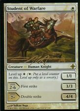 Student of Warfare foil signed | nm | Rise O.T. eldrazi | Magic mtg