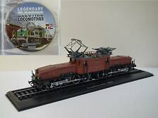 Ce 6/8 II Nr. 14253 Krokodil, 1:87 HO, Atlas display model, free DVD as a bonus