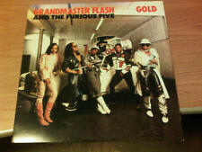"12"" MIX USA US GRANDMASTER FLASH AND THE FURIOUS FIVE GOLD EX/EX+ 1988 GDL"