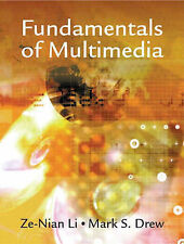 Drew, Mark S, Li, Ze-Nian Fundamentals of Multimedia Very Good Book