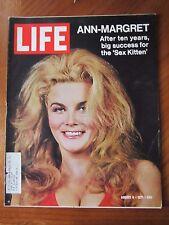 Life Magazine Ann Margret Sex Kitten August 1971