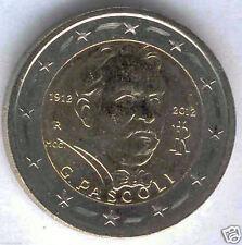 manueduc  2 Euros ITALIA 2012 Giovanni Pascoli Centenario de la muerte del Poeta