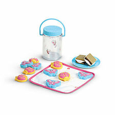 NEW American Girl Doll Bitty Baby Twin's CAMPING PLAY SET ~Food Smores Bug Jar