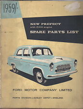 Ford New Prefect 1959 OHV Engine original illustrated Spare Parts List