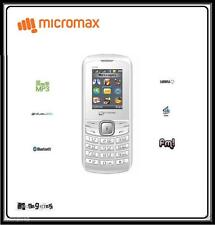 New Micromax X090 Dual Sim Mobile Phone With Camera + MP3 - White @ Best Price.!