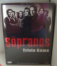 SOPRANO Sopranos Board Game TV NW 2004 TRIVIA Adult HBO Crime Vintage Gandolfini