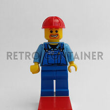 LEGO Minifigures - Worker - cty159 - Operaio Town Omino Minifig Set 30003