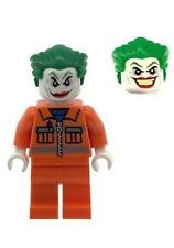 Custom Minifigure Oranger Joker Dual Face Head Superhero Printed on LEGO Parts