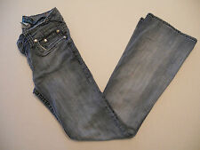Juniors Hydraulic Blue Denim Stretchy Jeans Pants Size 5/6