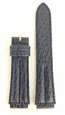 SEIKO AGE OF DISCOVERY BLUE LEATHER WATCH BAND 18mm 7T36 7A10 STRAP 7N47 6A00