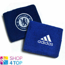ADIDAS CHELSEA FC FOOTBALL SOCCER CLUB TEAM FC WRISTBAND SWEATBANDS SET ONE SIZE