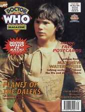 DR WHO MAGAZINE #202 SIGNED BY MATHEW WATERHOUSE, PLANET OF THE DALEKS