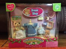 Calico Critters CC2283 Margaret & Halley's Dress Shop New in Box Free Ship