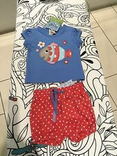 Frugi 2 piece set 0-3mth