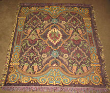 Vivian Wallpaper Art Tapestry Afghan Throw
