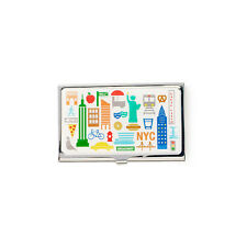 Design Ideas NYC NY NEW YORK ICONS Identity Business/Name Card Case 3210424