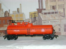 COX *BIG PINE LUMBER ** FIRE FIGHTING ** TANK CAR #X-07 ** HO Scale Train *mint