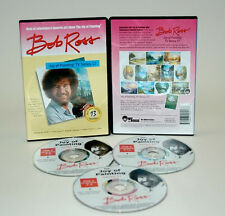BOB ROSS, 3-disc DVD SET, Series 17 Teaches 13 OIL  Paintings, EASY TO LEARN