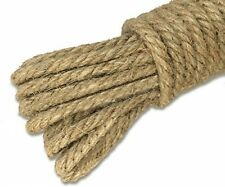 100% Natural Jute Rope 32 Feet 4mm Hemp Strong Rope Cord For Arts Crafts
