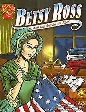 Betsy Ross and the American Flag (Graphic History)-ExLibrary