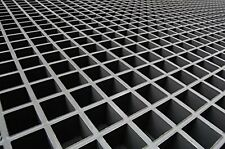 "FRP Grating, 48""x12"" Single Deck Grating Mesh Panel, 1.5"" thickness"